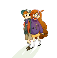 mystery twins! by animeloverFTW