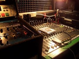 dj booth stock by Theshelfs