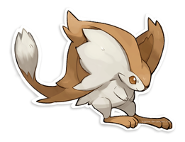 Jerboa Fakemon by Kipine