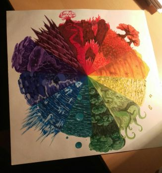 Color Wheel by Whimzic