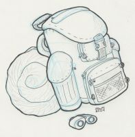 Camping Packing by vonholdt