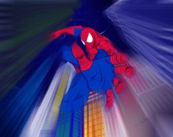 Spiderman to the Rescue by spidermoiz