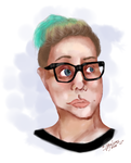 Potrait of really cool dude by VigeLucas
