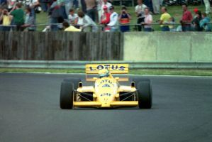 Ayrton Senna (Great Britain 1987) by F1-history