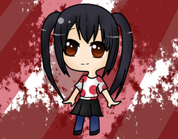 Azu-nyan from K-On by katidoodlesmuch