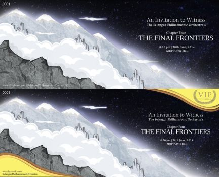 Chapter 4: The Final Frontiers' Invitation Designs by NezoElyk
