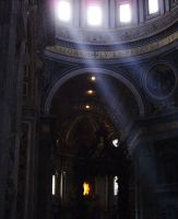 St. Peter and Sun - Rome by JulesJumper