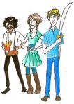 Jason, Piper and Leo by salma17