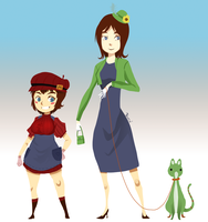Super Mario Sisters by Wasil