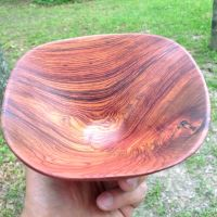 Rosewood Bowl Finished Top by lamorth-the-seeker