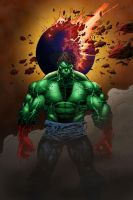 Hulk Smash Puny Earth by firepunk626