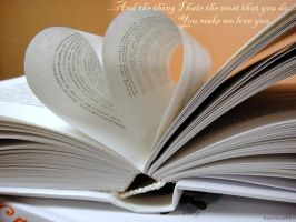 Love in the book by Naddie13