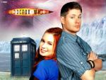 Dean and Charlie are Doctor Who Companions by Irenmd
