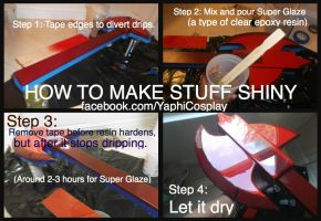 How to make stuff shiny (Marshall Lee guitar) by yaphi1