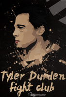 Tyler Durden l Vector Work by PeJuRaDesign