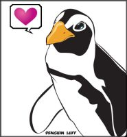 Penguin Luff by damphyr