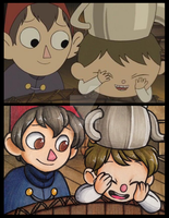 OTGW Screencap Redraw~ by Blue-Hoodie