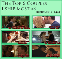 Top 6 Couples by GreedLin