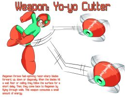 Weapon: Yo-yo Cutter by MegaPhilX