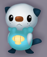 Oshawott. by PositivelySuave