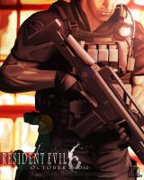 RE 6-The Captain by Magnum-Bug
