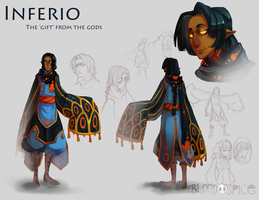 Inferio Character sheet by BloodnSpice