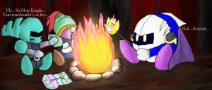Flaming Marshmallows by Ms-Silver