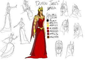 Queen Jadis by GeebMachine