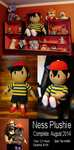 Ness Plush Doll by Feathery-Wings