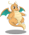 Commission:  Dragonite in Equestria by AleximusPrime