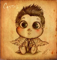 Baby Collection: Castiel by SilentImagery