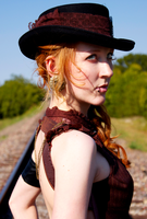 Steampunk Western 1 by missRPGenius