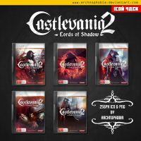 Castlevania: Lords of Shadow 2 ICONS PACK by archnophobia