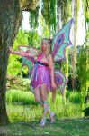 Flora Enchantix power by Giorgiacosplay
