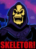 Cartoon Villains - 050 - Skeletor! by CreedStonegate