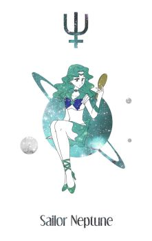 Sailor Neptune by Mangaka-chan