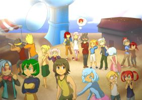 An Amusement Park to Remember by Ribbon-Knight