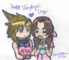 Happy Valentine's Day 2015: My Heart in Your Hands by cleris4ever