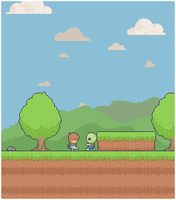 Sidescroller Mockup by Revangale