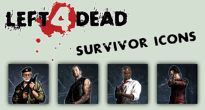 L4D Survivor Icon Pack by atagene