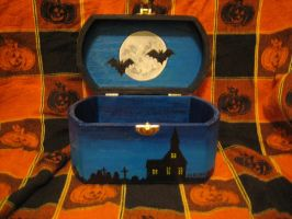 Halloween Trinket box by HeckAthorN