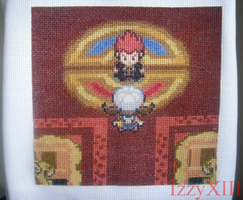 SS quilt patch - Pokemon HGSS - Vs Lance by IzzyXIII