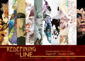 Redefining the Line - postcard by dichotomies