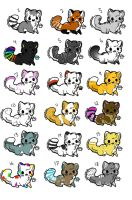 Cheap Cat Adopts 4 by Allycat-adopts