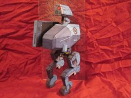 Metal gear mk2 papercraft by enc86