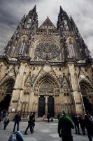 St. Vitus Cathedral by Juzma