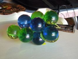 Glass Grapes 2 by Stock7000