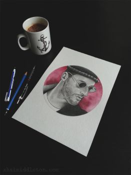 Leon: The Professional by xhaimiddleton