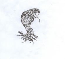 Tribal Viper by AndrewKFM