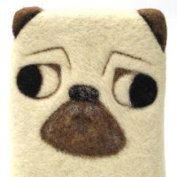 Rupert - Pug - Close-up by Poopycakes-makes